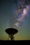 Telescopio de radio de Lovell imagen de archivo