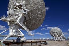 Telescopio de radio de Lovell Foto de archivo
