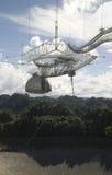 Telescopio de radio en Arecibo, Puerto Rico fotos de archivo libres de regalías