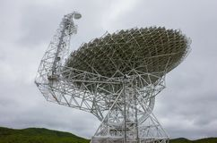 Telescopio de radio gigantesco Imagenes de archivo