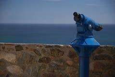 Telescopio della moneta Fotografia Stock Libera da Diritti