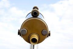 Telescopio della moneta Fotografie Stock Libere da Diritti
