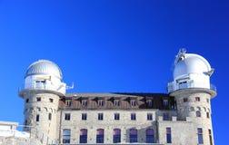 Telescopio di infrarosso di Gornergrat Le alpi, Svizzera Fotografia Stock Libera da Diritti
