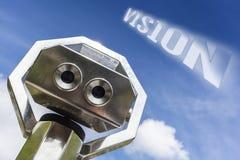 Telescopio di visione Fotografia Stock
