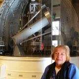 Telescopio enorme Imagen de archivo