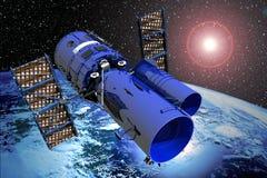 Telescopio espacial Imagen de archivo libre de regalías