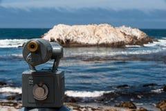 Telescopio pubblico Fotografia Stock Libera da Diritti
