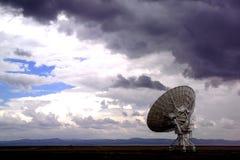 Telescopio radiofonico di Lovell Immagini Stock Libere da Diritti