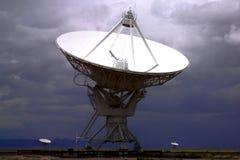 Telescopio radiofonico di Lovell Fotografie Stock