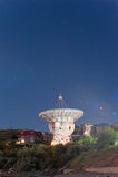 Telescopio radiofonico di Lovell Immagine Stock Libera da Diritti