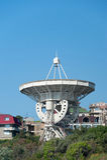 Telescopio radiofonico di Lovell Fotografia Stock