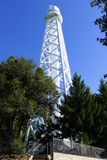 Telescopio solare della torre in Mt wilson Fotografia Stock Libera da Diritti