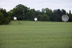 Telescopios de radio Imagenes de archivo