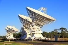 Telescopios de radio Fotos de archivo libres de regalías