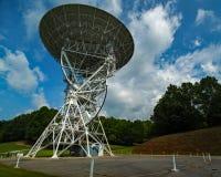 Telescopios de radio de PARI Carolina del Norte foto de archivo
