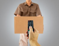 Teleshopping Royalty Free Stock Image