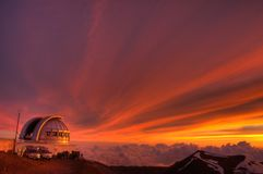 teleskop arkivfoto