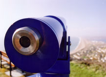 teleskop Fotografering för Bildbyråer