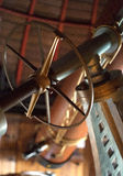 Teleskop, das Rad in Position bringt stockbilder