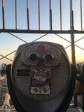 Teleskop in New York City Lizenzfreies Stockfoto