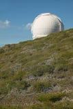 Teleskop in Roque de Los Muchachos La Palma spanien Stockbilder