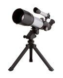 Teleskop und Stativ Lizenzfreie Stockfotos
