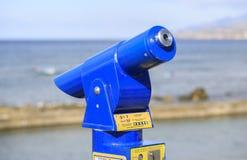 Teleskop widzieć krajobrazy obraz royalty free