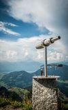 Teleskopbeobachtung Stockfoto