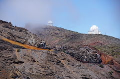 Teleskope Kapteyn - Newtons Lizenzfreie Stockfotos