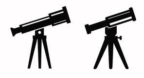 Teleskopikone stock abbildung