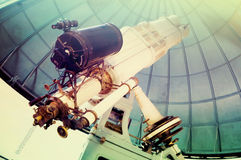 Teleskopu obserwatorium Zdjęcia Stock