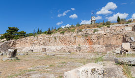 Telesterion, ancient Eleusis, Attica, Greece royalty free stock photography