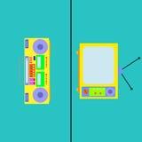 Telesummer royaltyfri illustrationer