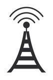 teletechniczna anteny ikona Zdjęcia Stock