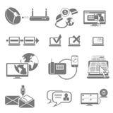 teletechniczna ikona Obrazy Stock