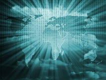 teletechniczny świat royalty ilustracja