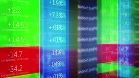 Teletipo de Wall Street del mercado de acción - V2 metrajes