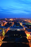 Night cityscape. Russia. Rostov-on-Don. Stock Photo