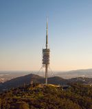 Teletower Torre de Collserola Photos stock