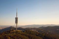 Teletower Torre de Collserola Stock Images