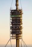 Teletower Torre de Collserola Royalty Free Stock Photography