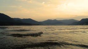 _ Telets sjö Fotografering för Bildbyråer