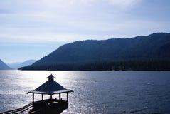Teletskoe lake. Stock Photo