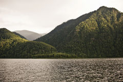 Teletskoye lake. Altai mountains. Russia Royalty Free Stock Photos
