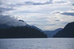 Teletskoye lake and Altai mountains. Russia Royalty Free Stock Photos