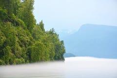 Teletskoye lake Stock Image