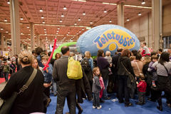 Teletubbies stand at G! Come Giocare 2010 Royalty Free Stock Photos