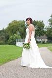 Teleurgestelde bruid Royalty-vrije Stock Afbeeldingen