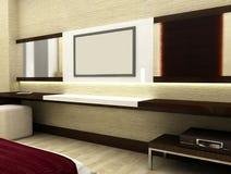 televisão 3D Foto de Stock