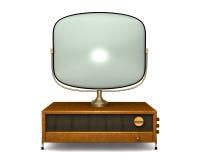 Televisão antiga 2 ilustração royalty free